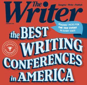 The Writer magazine cover